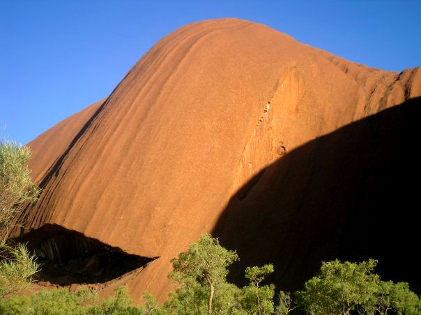 The Happy Whale on Uluru