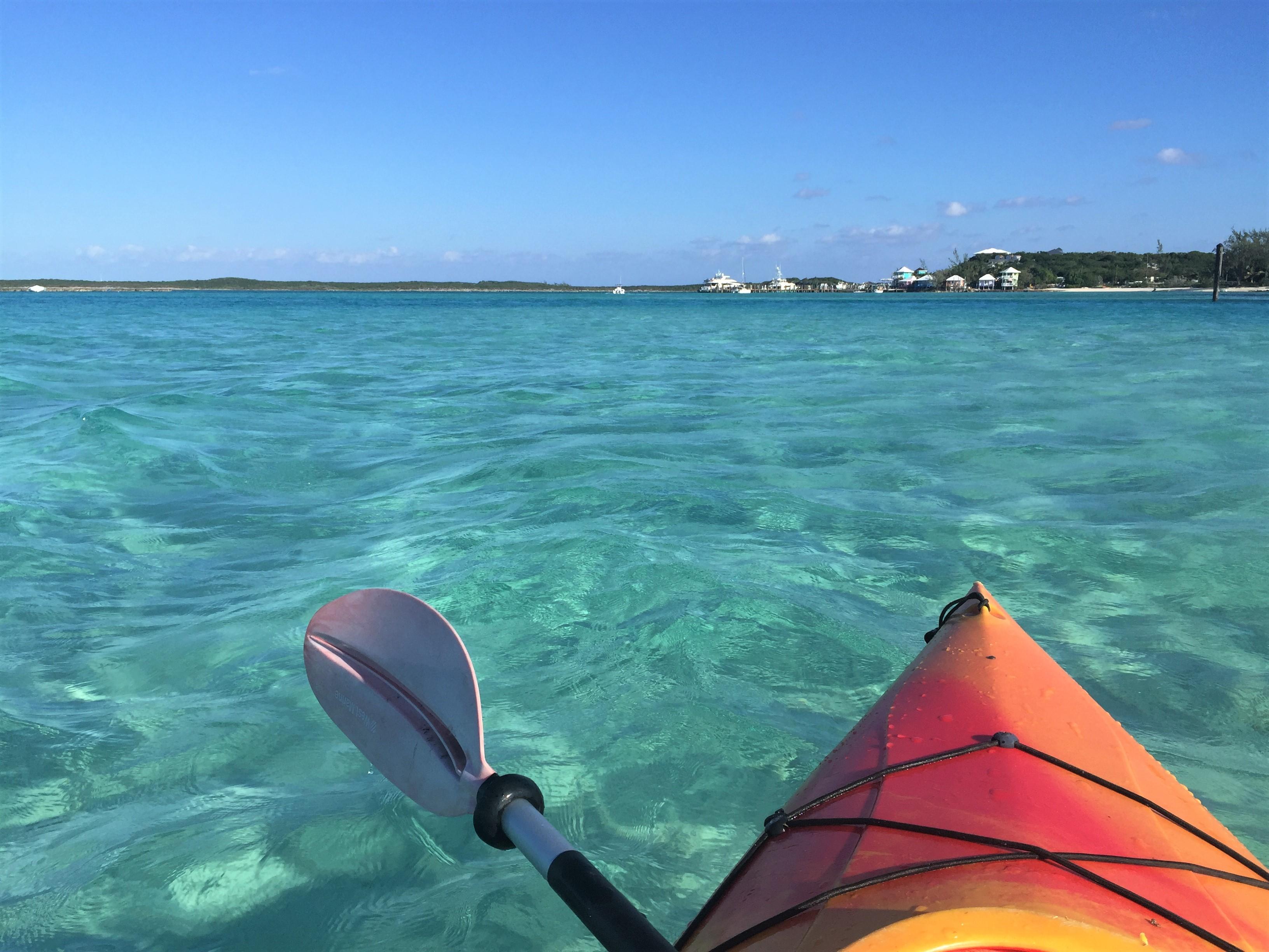 Kayaking-Staniel-Cay-Bahamas