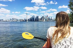 Kayaking the Toronto Islands